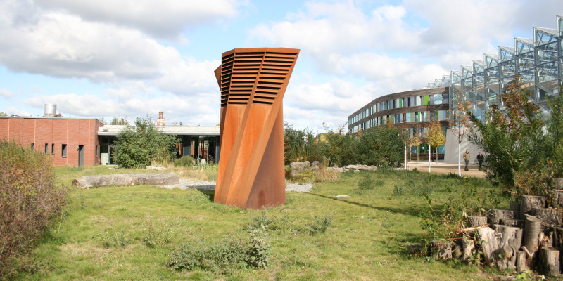 Stelen in Dessau