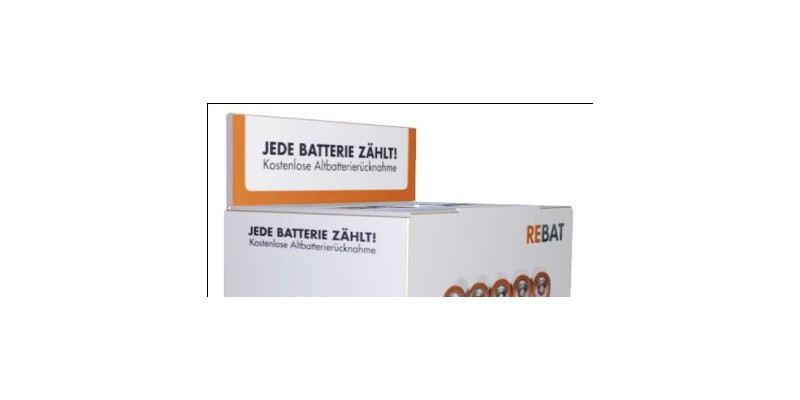 CCR-Rebat-Batterien-Sammelbox für Altbatterien