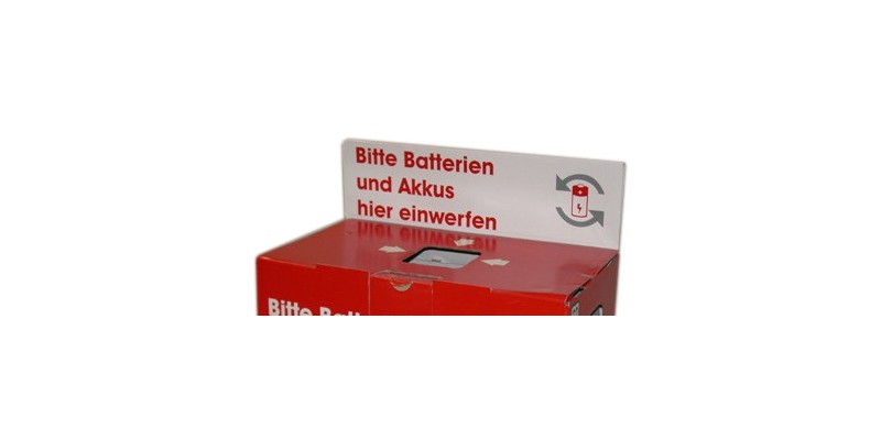 ERP-Batterien-Sammelbox für Altbatterien