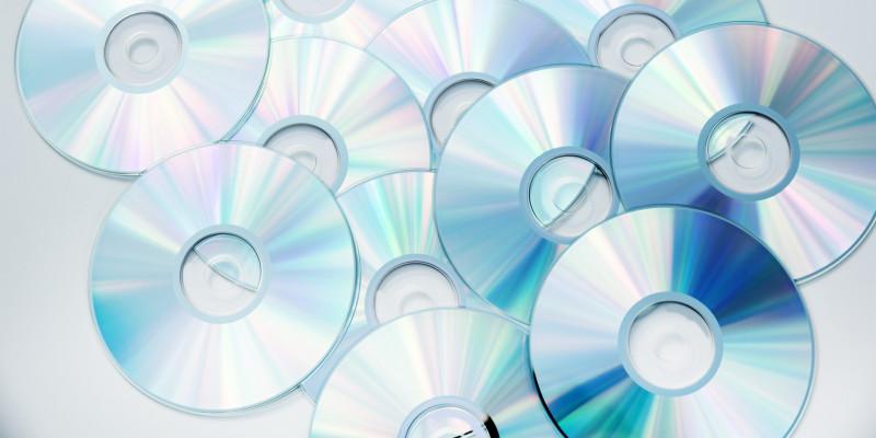 Ein Haufen voller CDs