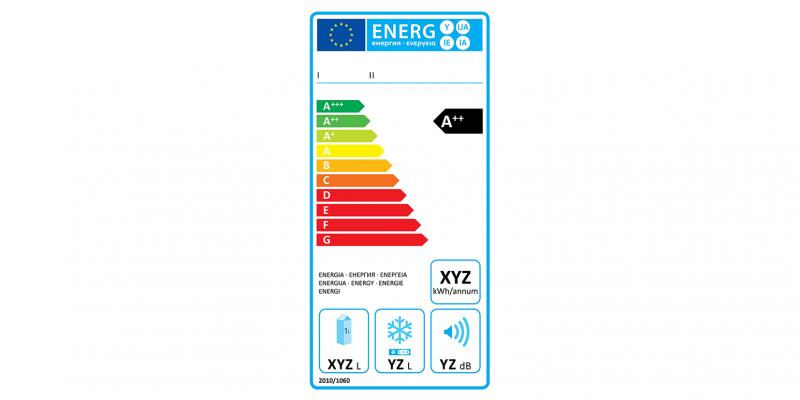 EU-Energieverbrauchskennzeichnung für Kühlgeräte