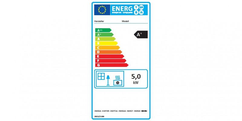EU-Energieverbrauchskennzeichnung für Einzelraumheizungen