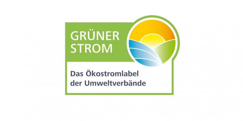 Das Label des Grüner Strom - Label e.V.
