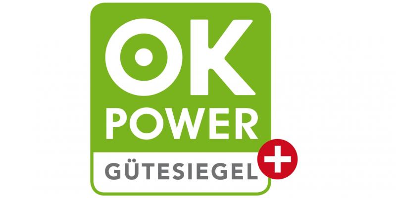 Logo ok-Power-Plus für Ökostrom