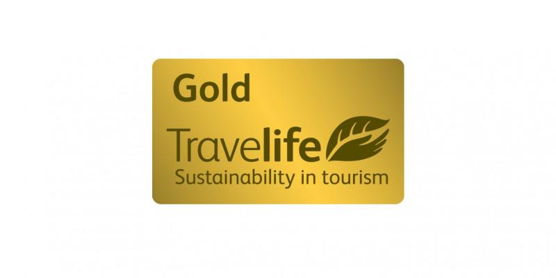 Das Siegel der Initiative Travelife Sustainability in Tourism