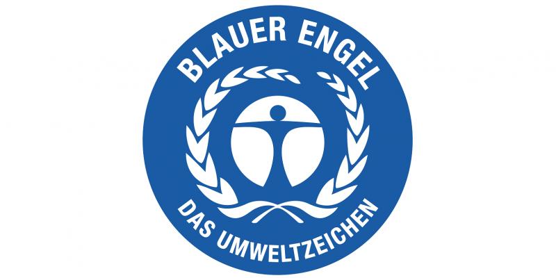 Logo für den Blauen Engel für Streumittel
