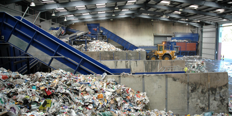 Waste sorting facilitie
