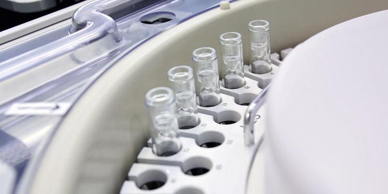 Zentrifuge in einem Labor