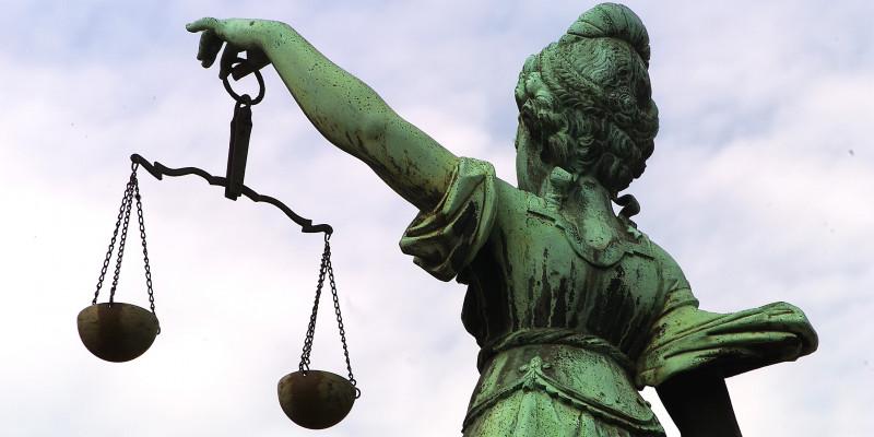 The statue of Justitia