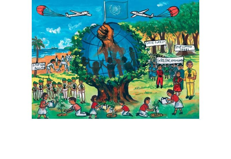 Kinder-Umweltmalwettbewerb