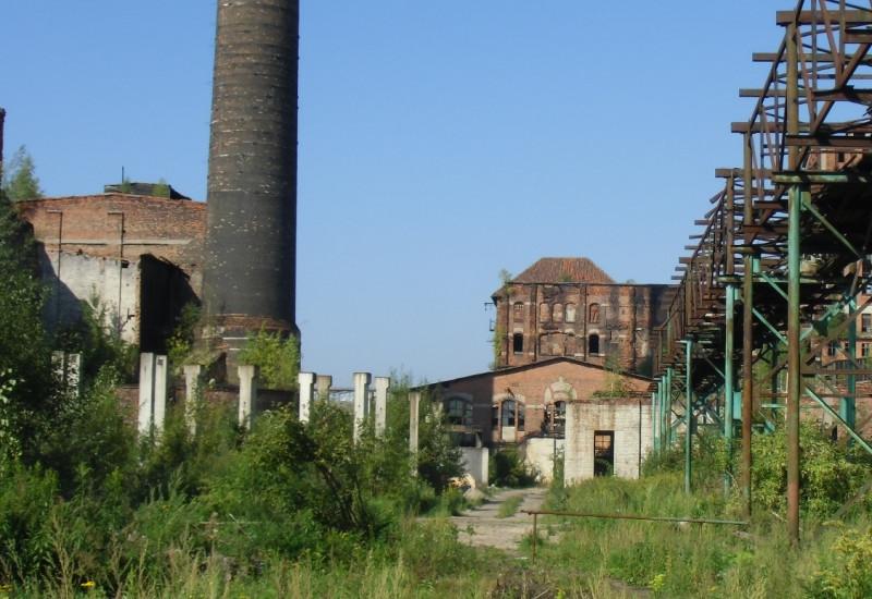 Bild einer Industriebrache