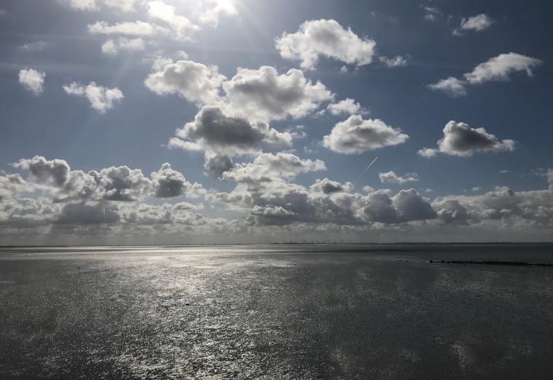 Strand in Büsum (Nordsee)