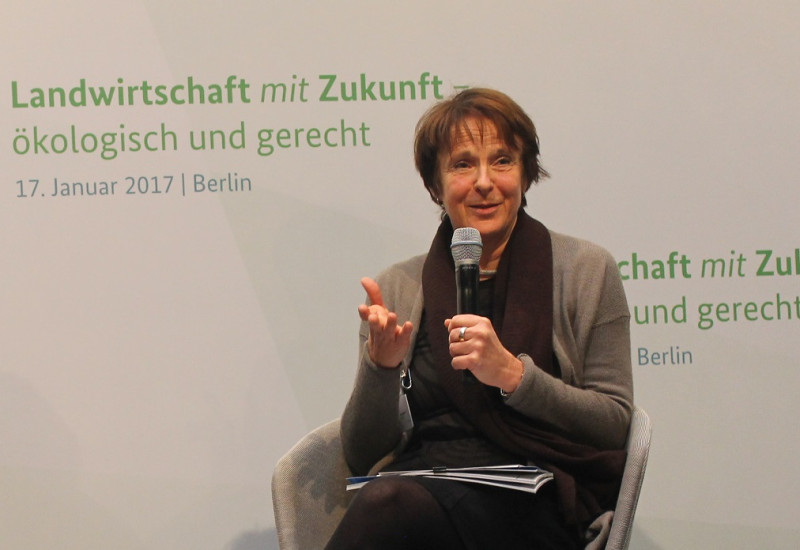 Maria Krautzberger, Präsidentin des UBA, auf dem Agrarkongress