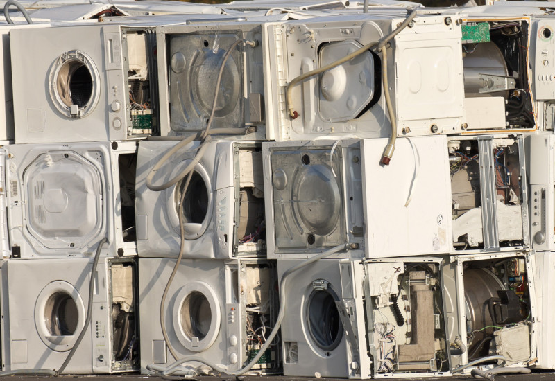 Alte Waschmaschinen