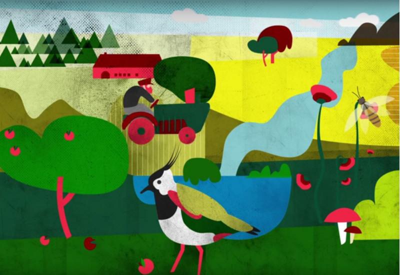 Screenshot Film Landwirtschaft