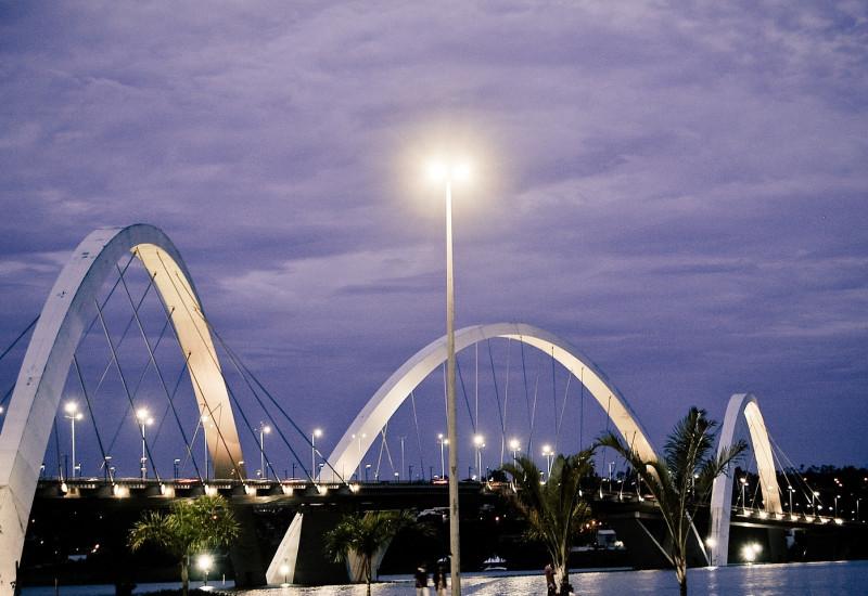 Brücke in Brasilia