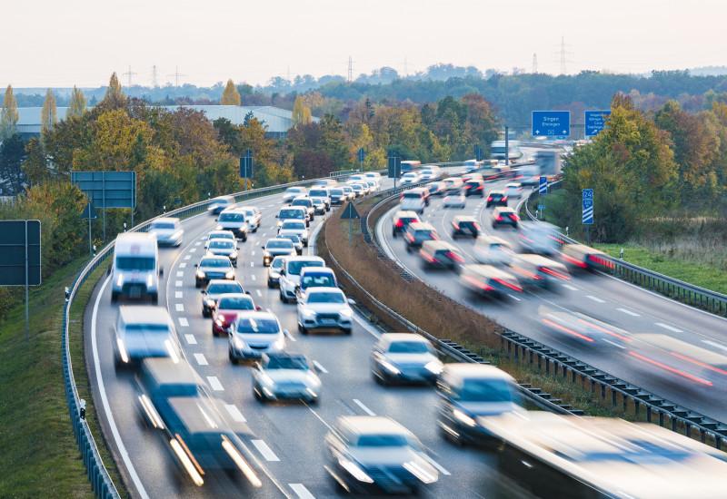 Eine Autobahn