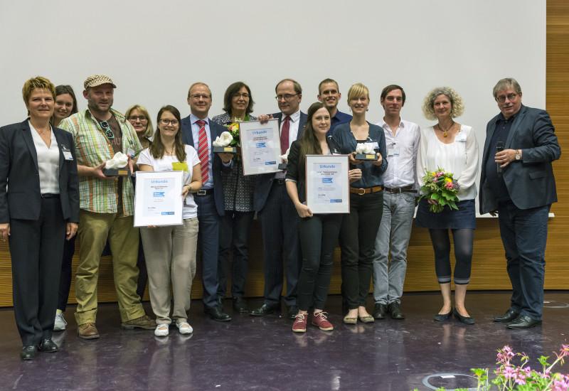 Gewinner des Blauer Kompass Wettbewerbs 2016