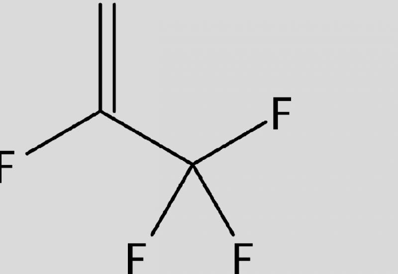 Strukturformel von R1234yf