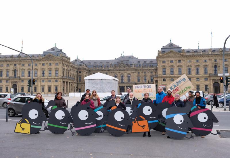 EMW-Teilnehmende in Würzburg