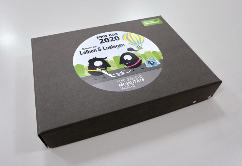Bild der EMW-BOX 2020, die beim UBA ausgeliehen werden kann.