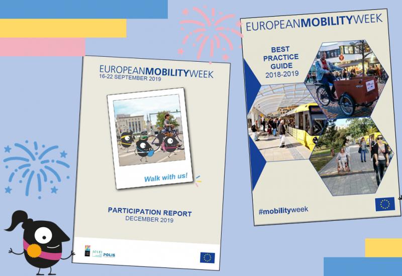 Cover des EMW-Teilnahmeberichts und Best-Practice Guides