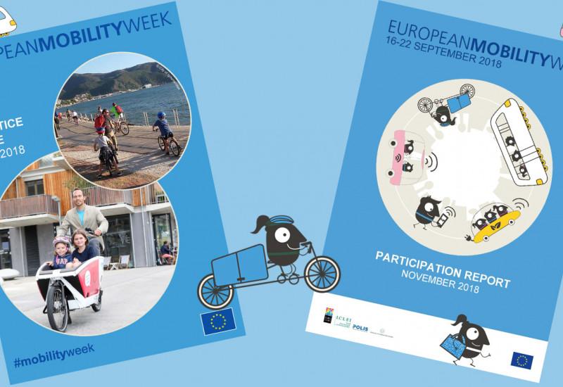 Titelseiten der beiden EU-Broschüren