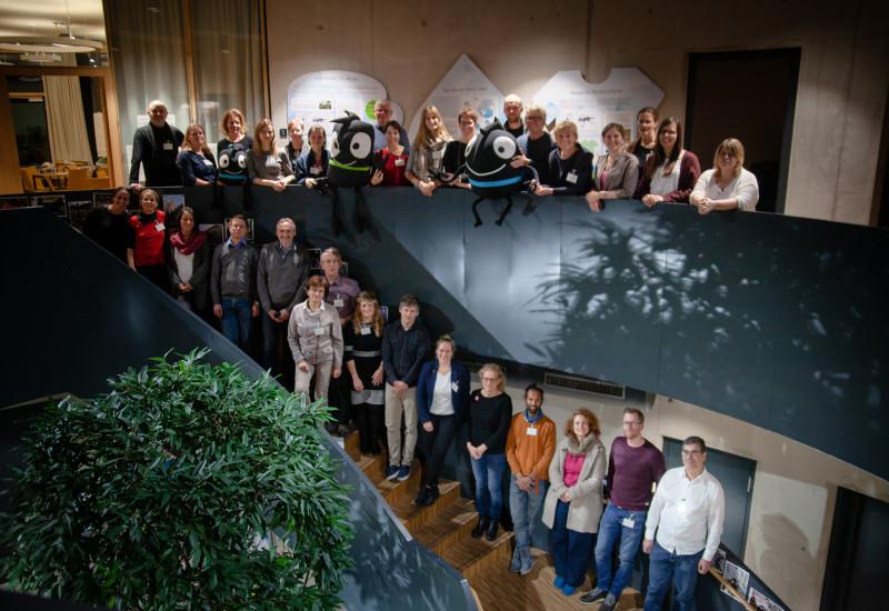 Gruppenfoto der Teilnehmenden des Netzwerktreffens