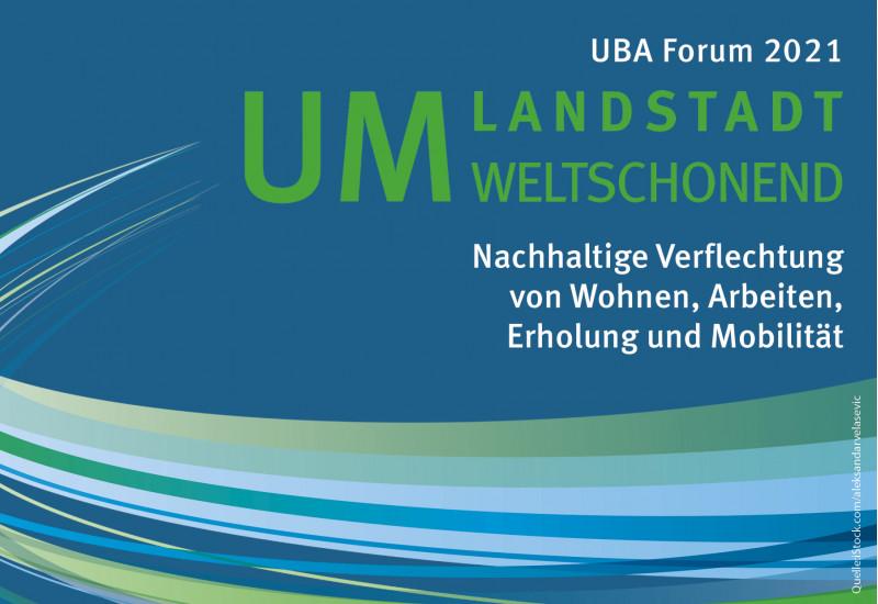 Logo des UBA-Forums mobil und nachhaltig