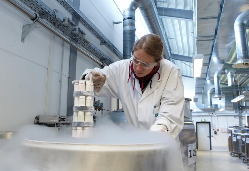 Umweltprobenbank: Eiskalt für Umwelt- und Gesundheitsschutz