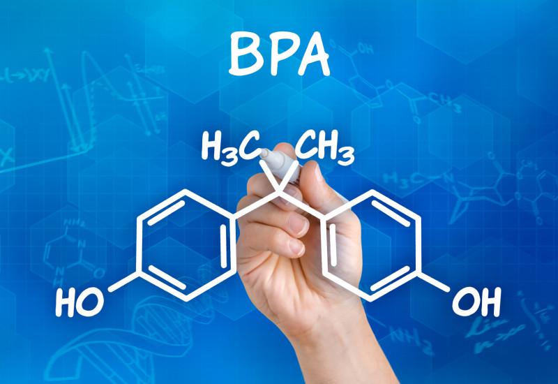 Formel von Bisphenol A