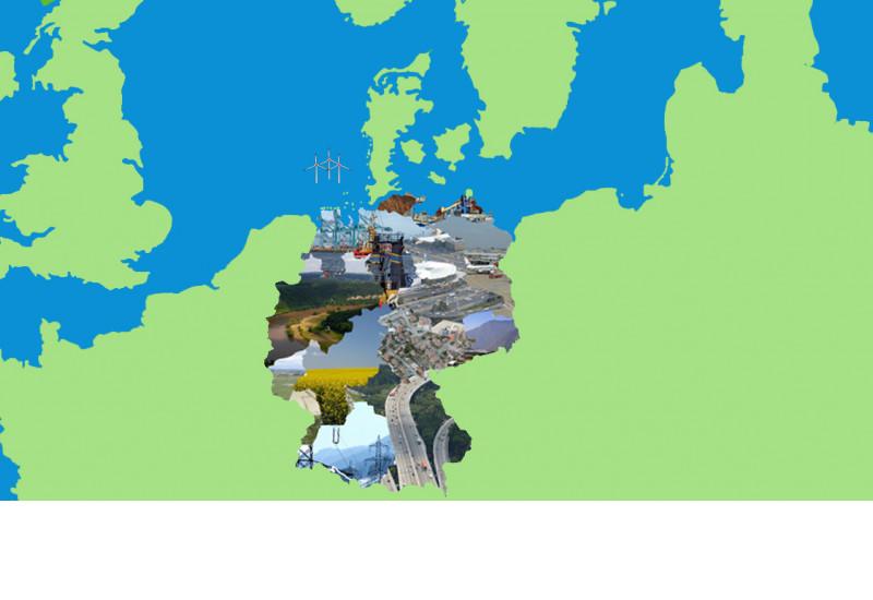 Deutschland, Planung und Nutzungen