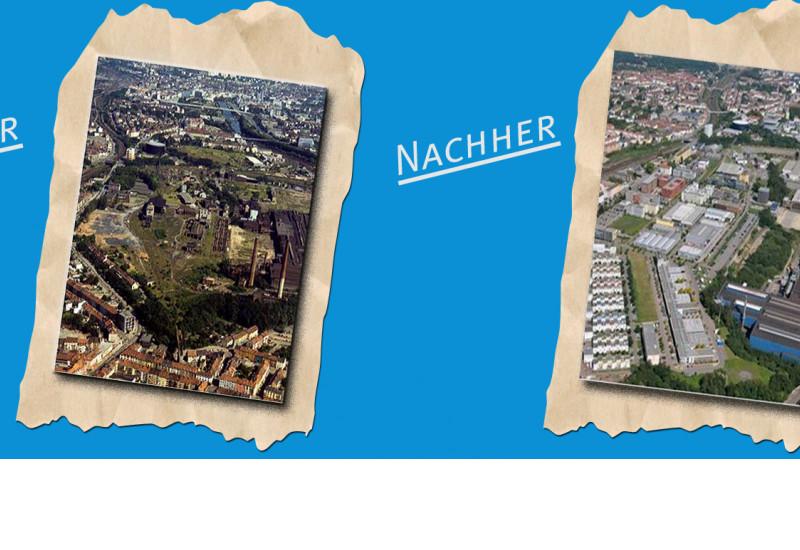 Burbacher Hüttengelände/Saarterrassen, Flächenrecycling und Innenentwicklung