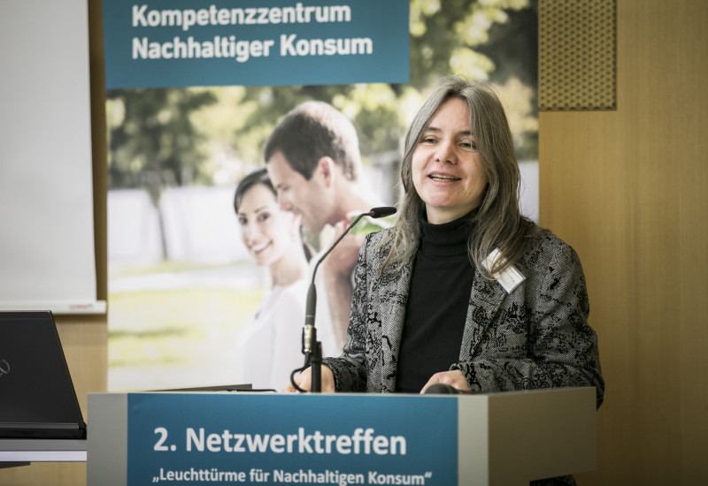 Frau Dr. Bettina Rechenberg am Rednerpult