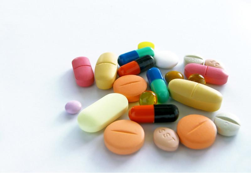 verschiedene Tabletten