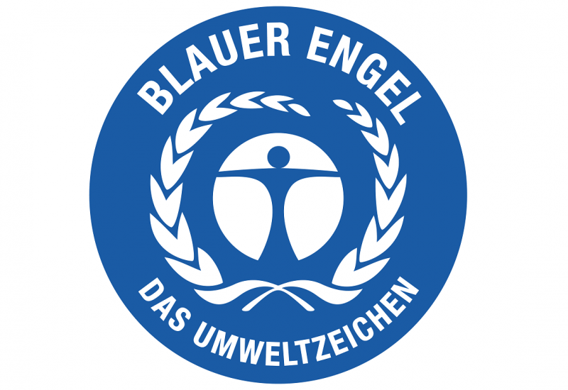 Logo: Blauer Engel - Das Umweltzeichen