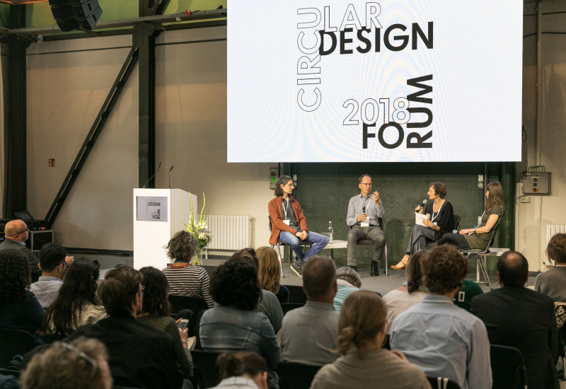 Discussion panel at the Circular Design Forum 2018
