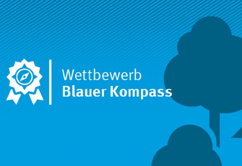 Blaues Logo des Wettbewerbs 2020