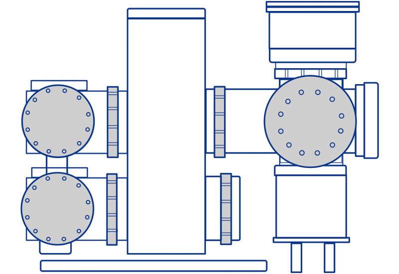schematische Zeichnung einer Anlage