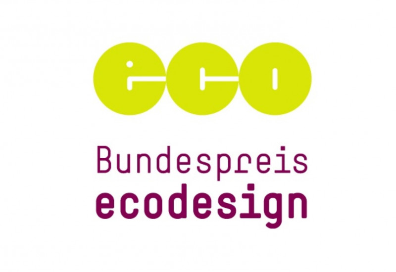 Logo: eco Bundespreis ecodesign