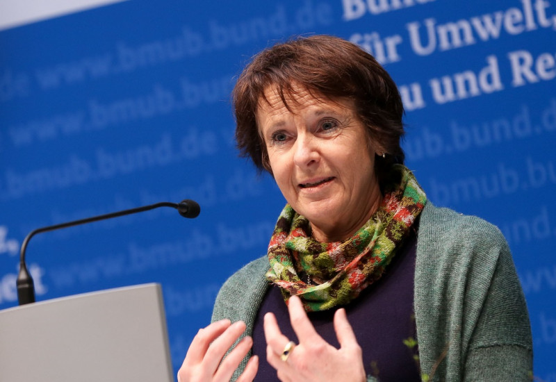 Maria Krautzberger am Rednerpult