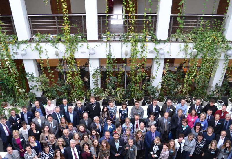 Participants of the German-Russian Environmental Day 2016 in Kaliningrad Region