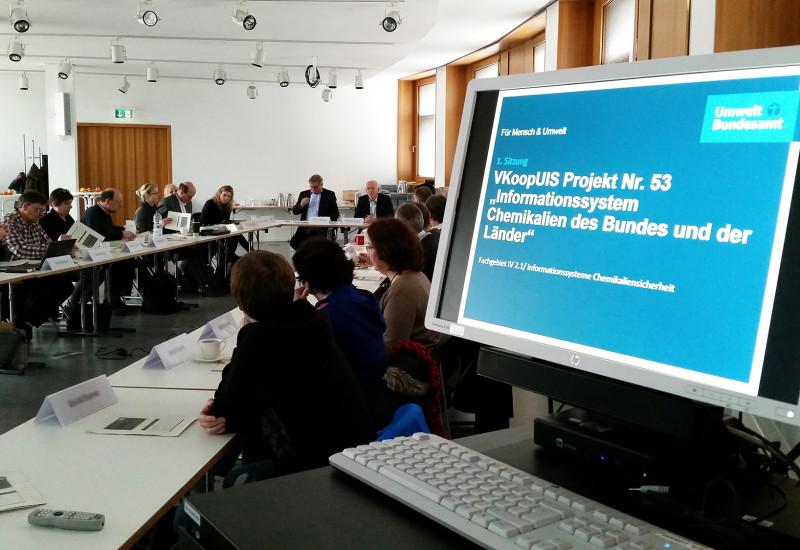 1. Sitzung der Steuerungsgruppe zum neuen Kooperationsprojekt am 23.2.2016