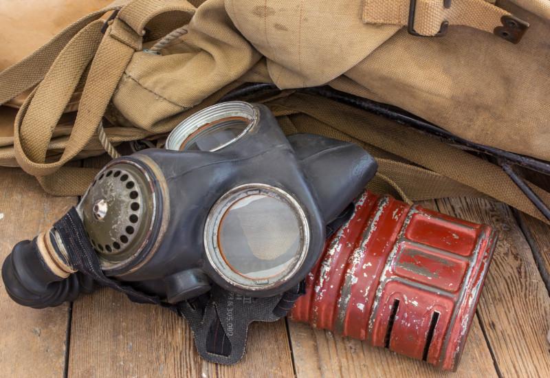 Gasmaske mit Filter