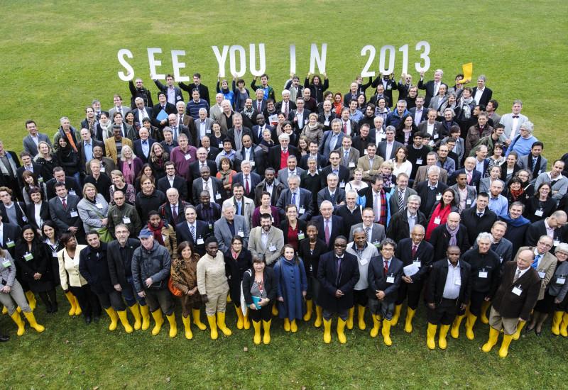 "Teilnehmer der Global Soil Week 2012 sagen ""see you in 2013"""