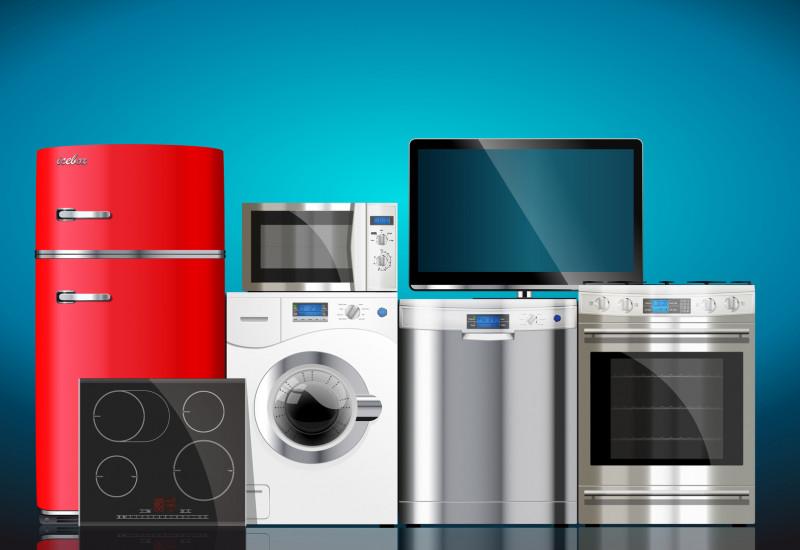 verschiedene Haushaltsgeräte