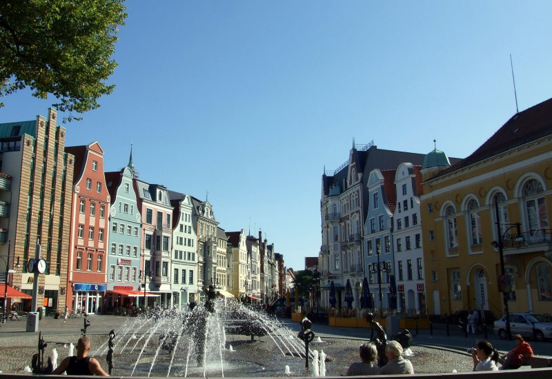 Innenstadt von Rostock