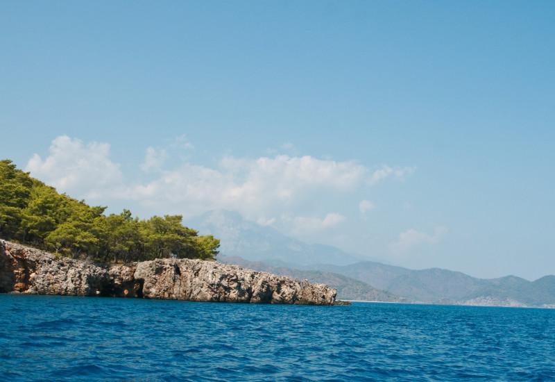 Insel und Meer