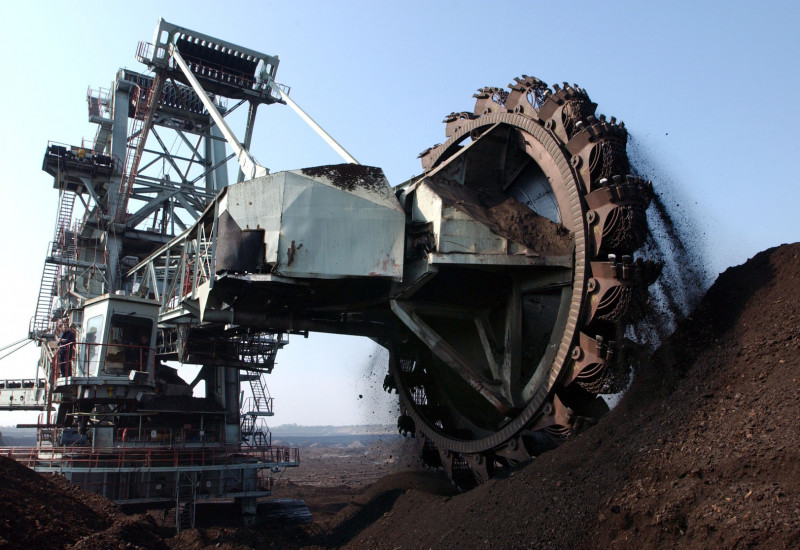The extraction of lignite from opencast mines is also subject to mining law
