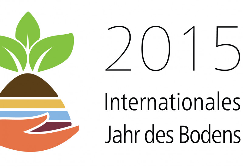 Logo Internationales jahr des Bodens